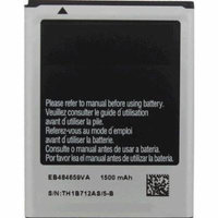 Replacement Battery 1500mAh for Samsung Focus Flash / SCH-S738C Phone Models