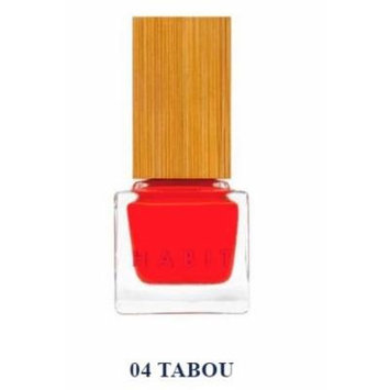 Habit Cosmetics Nail Polish Tabou Red Non Toxic