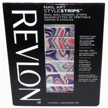 revlon nail art style strips marble arts 16 strips