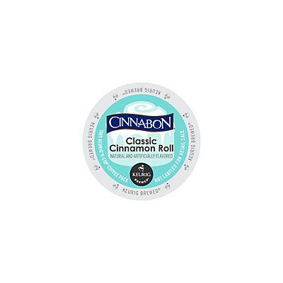 Cinnabon Classic Cinnamon Roll K-Cup(R), 1 Oz, Box Of 24