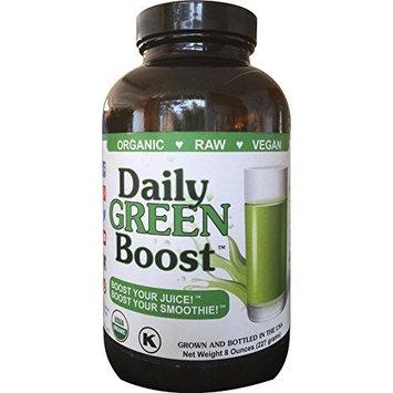 Daily Green Boost 8oz Organic Raw Vegan GF USA