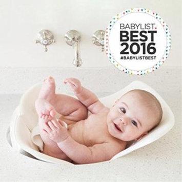 Puj Tub - The Soft, Foldile Biy Bathtub - Newborn, Infant, 0-6 Months, In-Sink Biy Bathtub, BPA free, PVC free (White)