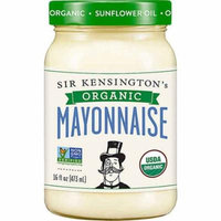 Sir Kensington's Organic Mayonnaise Gluten Free Sunflower Oil -- 16 fl oz pack of 1