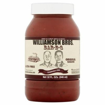 Williamson Bros. Bar-B-Q Original Sauce, 32 fl oz
