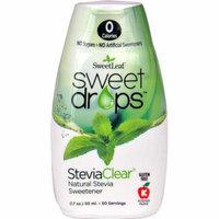 Wisdom Natural SweetLeaf® Sweet Drops™ Sweetener SteviaClear® -- 1.7 fl oz pack of 2