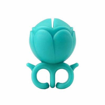 Pueen Nail Polish Holder Ring, Teal