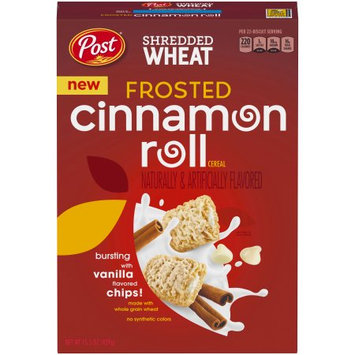 Post Consumer Brands, Llc Post Shredded Wheat Frosted Cinnamon Rolls 15.5oz