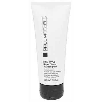 Paul Mitchell Firm Style Super Clean Sculpting Gel 6.8 oz. (NEW PACKAGING)