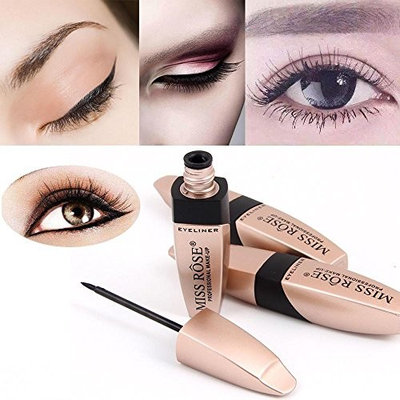 Liquid Eyeliner Doinshop Gel Black Waterproof Eye Liner Makeup Cosmetic