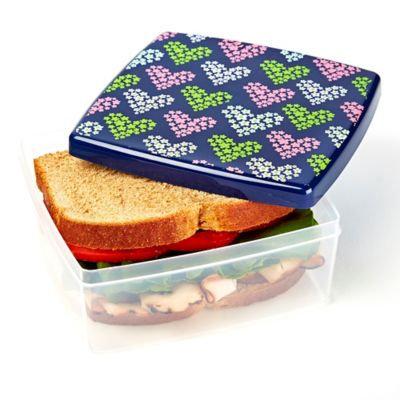Fit & Fresh Hearts Lunch POD in Purple