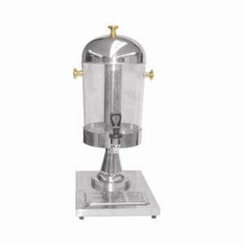Fancy Stainless Steel and Gold Juice Cold Drink Water Dispenser Server Catering