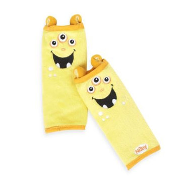 His Juveniles Nuby Monster Strap Covers, Yellow