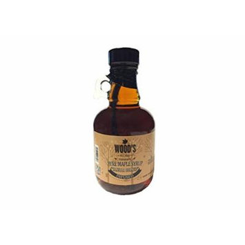 Pure Vermont Maple Syrup - Vanilla Infused - Glass Jug