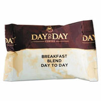 Day to Day Coffee - 100% Pure Coffee, Breakfast Blend, 1.5 oz Pack, 42 Packs/Carton 23003 (DMi CT