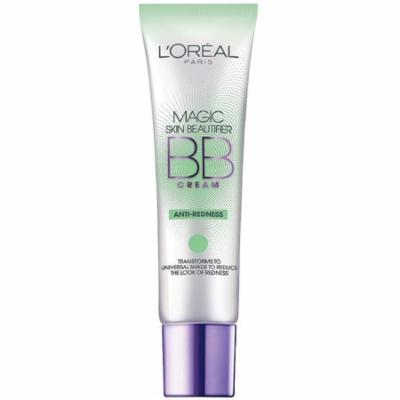 L'Oreal Paris Magic Skin Beautifier BB Cream, Anti-Redness 1 oz (Pack of 6)