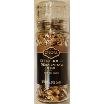 Private Selection Steakhouse Seasoning Grinder 2.1 oz (Pack of 2)