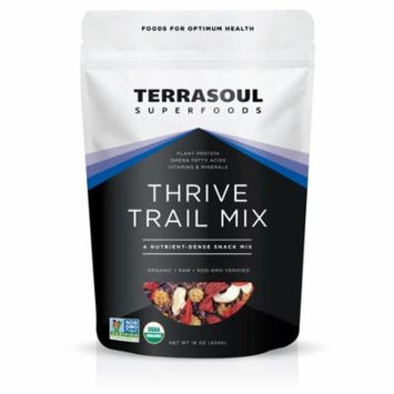 Terrasoul Superfoods Organic Thrive Trail Mix, 1.0 Lb