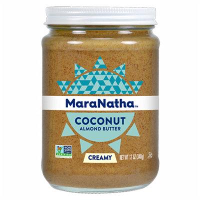 MaraNatha - No Stir Coconut Almond Butter Creamy - 12 oz(pack of 3)