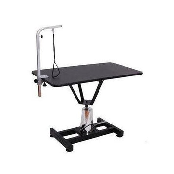 Mobile Adjustable Hydraulic Lift Steel Metal Pet Groomer's Table for Dogs Groom