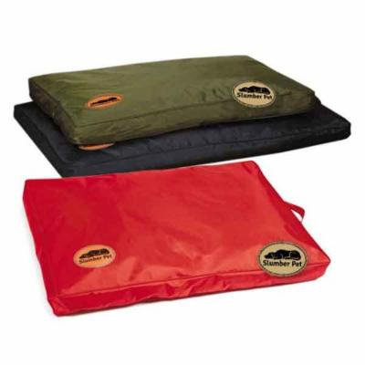 Slumber Pet Sp Toughstructable Bed 42x28in Red Size: L & Color: Red 22in. x 15in. x 5.5in.