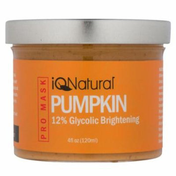 Organic Pumpkin Enzyme Facial Peel Mask with 12%Glycolic Acid by iQ Natural