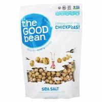 The Good Bean - All Natural Chickpea Snack Sea Salt - 6 oz(pack of 12)