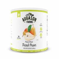 Augason Farms Freeze Dried Diced Pears 10.19 oz No. 10 Can