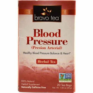 Bravo Tea Blood Pressure Herbal Tea -- 20 Tea Bags pack of 6