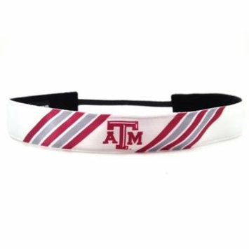 One Up Bands 1557 NCAA Texas A&M Stripes Headband - Pack of 2