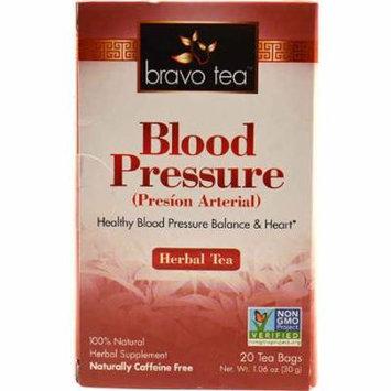 Bravo Tea Blood Pressure Herbal Tea -- 20 Tea Bags pack of 4