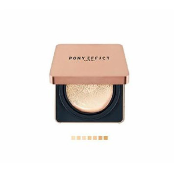 Pony Effect Cover Stay Cushion Foundation + Refill (SPF50+ PA+++) Matte Ice Effect (#21 Rosy Ivory)