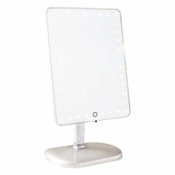 Impressions Vanity Touch Pro LED Makeup Mirror PLATINUM BLING EDITION