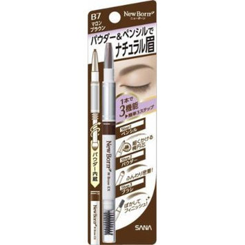 SANA New Born Eyebrow Mascara and Pencil, Marron Brown
