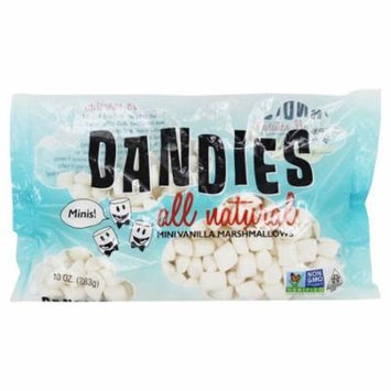 Dandies - All Natural Mini Marshmallows Vanilla - 10 oz(pack of 6)