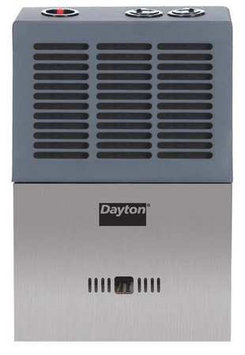 DAYTON 12H991 Portable Gas Heater, Dual Fuel,6,000 BtuH