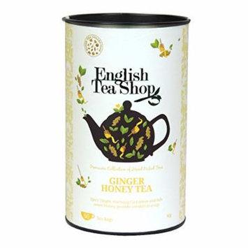 English Tea Shop - Ginger Honey Tea - 60 Tea Bags - 90g (Pack of 3)
