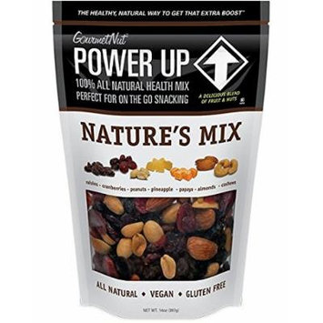 Power Up Trail Mix - Nature's Mix, 100% All Natural Trail Mix (Pack of 2)