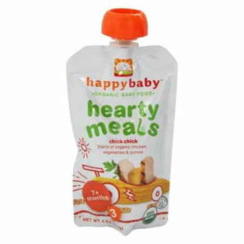 HappyBaby - Organic Baby Food Stage 3 Meals Ages 7+ Months Chick Chick - 4 oz.(pack of 4)