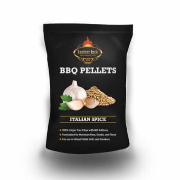 Lumber Jack Italian Garlic Spice BBQ Grilling Pellets