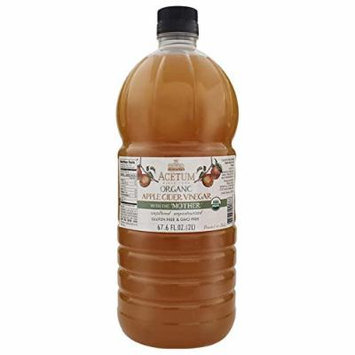 Acetum Organic Apple Cider Vinegar 67.6 Oz (2 Liters)