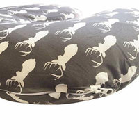 DANHA Jersey Fabric Nursing Pillow Cover | Deer Slipcover | Best for Breastfeeding Moms | Soft Fabric Fits Snug On Nursing Pillows to Aid Mothers While Breast Feeding | Great Baby Shower Gift