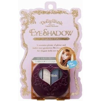 DOLLY WINK Koji Eye Shadow, 05 Silver Gray