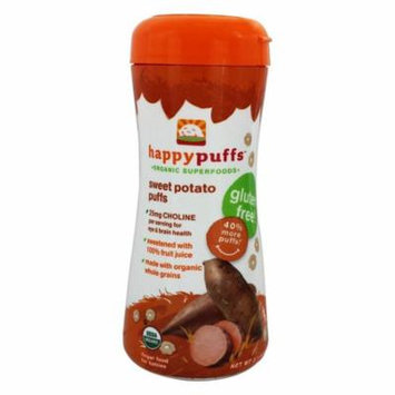 HappyFamily - Happy Puffs Organic SuperFoods Sweet Potato - 2.1 oz(pack of 12)