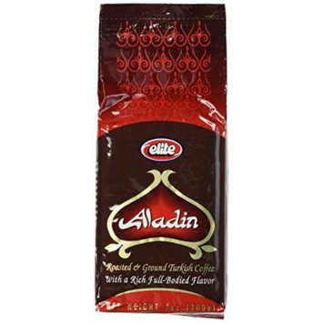 Elite Aladin Roasted And Ground Coffee 7 oz (Pack of 12)