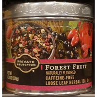 Private Selection Forest Fruit Caffeine-Free Loose Leaf Tea 3.88 oz (Pack of 3)