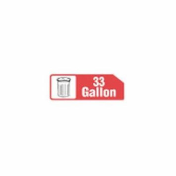 33X39 33 Gallon Extra Heavy Buff Liner -- 100 Count