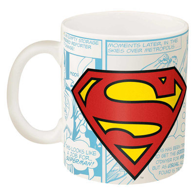 Zak Designs Superman Coffee Mug