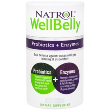WellBelly Probiotic + Enzymes 5 BILLION (30 Capsules) by Natrol at the Vitamin Shoppe