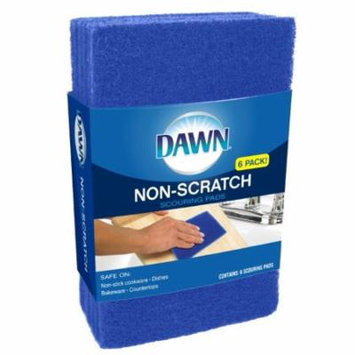 Dawn Non-scratch Scouring Pads, 3 Ct
