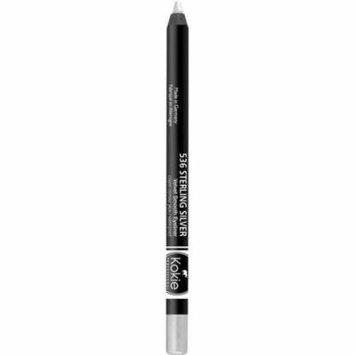 Kokie Professional Velvet Smooth Eyeliner, Sterling Silver, 0.04 oz